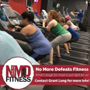 NO MORE DEFEATS FITNESS WITH GRANT LONG